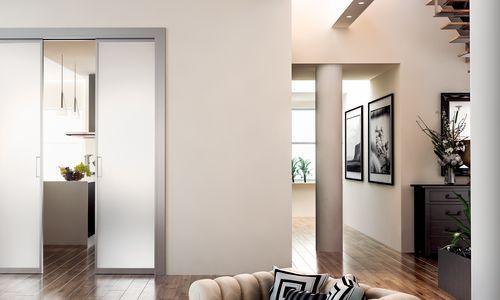 Portes coulissantes en verre porte coulissante sur for Porte scorrevoli doortech